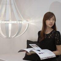水晶燈飾增進空間情趣