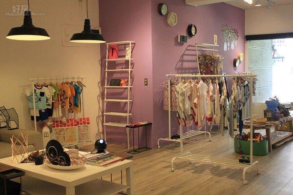 2.店內裝潢以「舒服居家」來定調,由馮湘琪與老公好友一同分租。