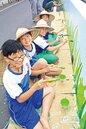 學童彩繪 三星大隱社區美極了