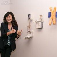 是藝術也是住家,龍寶建設董事長張麗莉