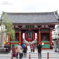 東京最古老寺廟,金龍山淺草寺