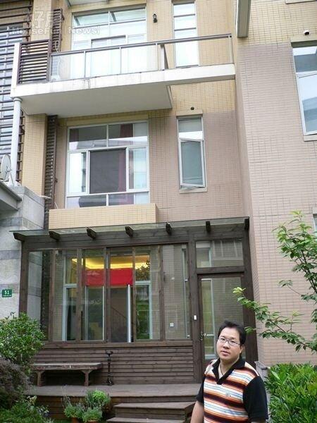 3.劉爾金位於上海的別墅,外觀新穎氣派。