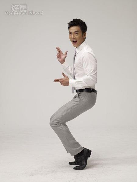 7很有喜感的李沛旭,在偶像劇的演出常讓人捧腹大笑。(伊林提供)
