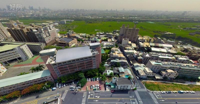 台中市南屯區嶺東周邊也成了建商推案熱區。(業者提供)