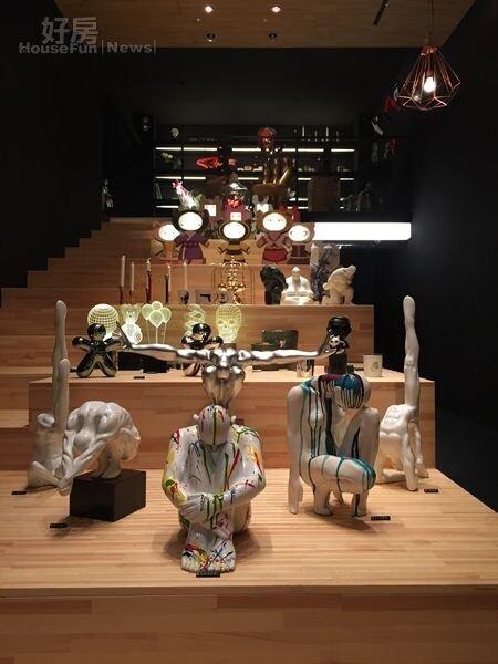 6. 店內所有的商品幾乎沒有重複,多半是從歐洲各大傢飾展帶回來的。