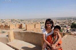 陳安儀熱愛旅遊,也為了子女移居宜蘭。