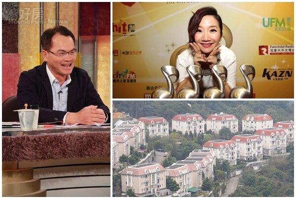 6陶晶瑩曾是大台北華城住戶。(HitFm提供) 7鄭弘儀喜歡大台北華城的寧靜。(JET提供)