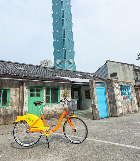陸客來台興起「騎youbike」風潮。(截取自YouBike微笑單車網站)