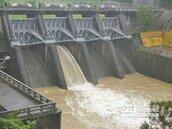 雨水喝很飽 大埔水庫排洪